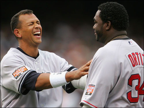 My man, let me feel what HGH did to your chest - A-Rod