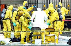Hazmat teams