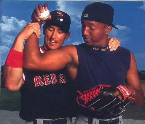 Pedro and Nomar back in the day