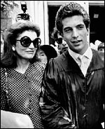 JFK Jr. with mother Jacqueline Kennedy Onassis