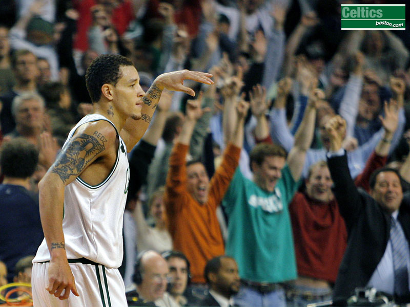 The new PG for the Seattle Supersonics, Delonte West
